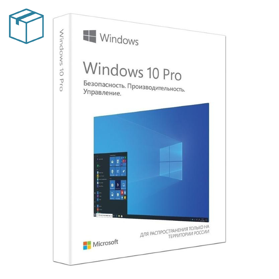 Microsoft Windows 10 Professional RU (BOX) Коробочная версия фото 1 — ResSoft