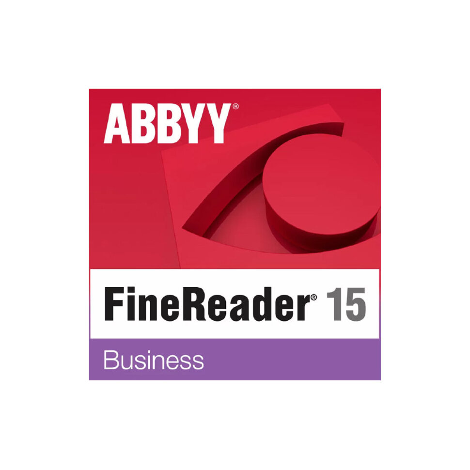ABBYY FineReader 15 Business (ESD) фото 1 — ResSoft